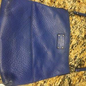 Kate spade crossbody purse, royal blue